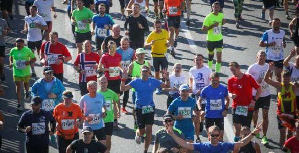 24. Ljubljanski maraton. Foto: Anže Malovrh/STA