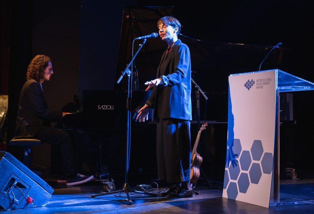 Nagrade so podelili v priznanem jazz clubu Porgy & Bess na Dunaju. Foto: Eugénie Berger/BMEIA