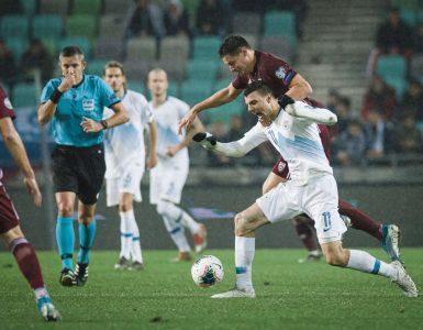 Kvalifikacije za nogometno Evropsko prvenstvo Euro 2020, Slovenija - Latvija. Foto: Jure Makovec/STA