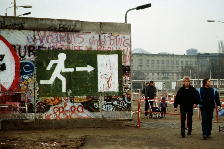 Berlinski zid. Foto: Raphaël Thiémard/Wikimedia