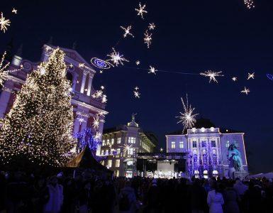 Lučke v Ljubljani. Foto: Aleš Fevžer/STO