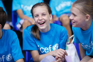 Ob letošnjem svetovnem dnevu otrok so v ospredju otrokove pravice. Vir: Unicef Slovenija