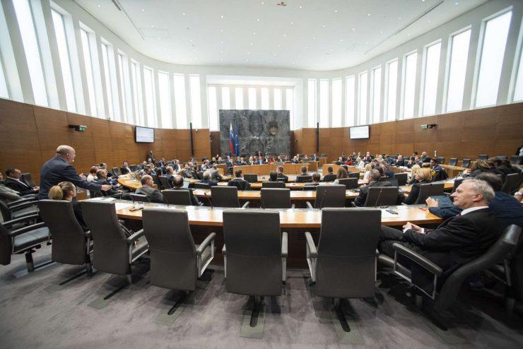 Seja državnega zbora. Foto: Bor Slana/STA