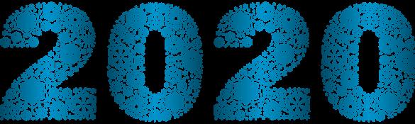 Srečno 2020. Vir: Pngimg