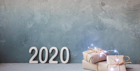 Srečno 2020. Vir: Adobe Stock