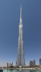 Burj Kalifa. Foto: Donaldytong/Wikipedia