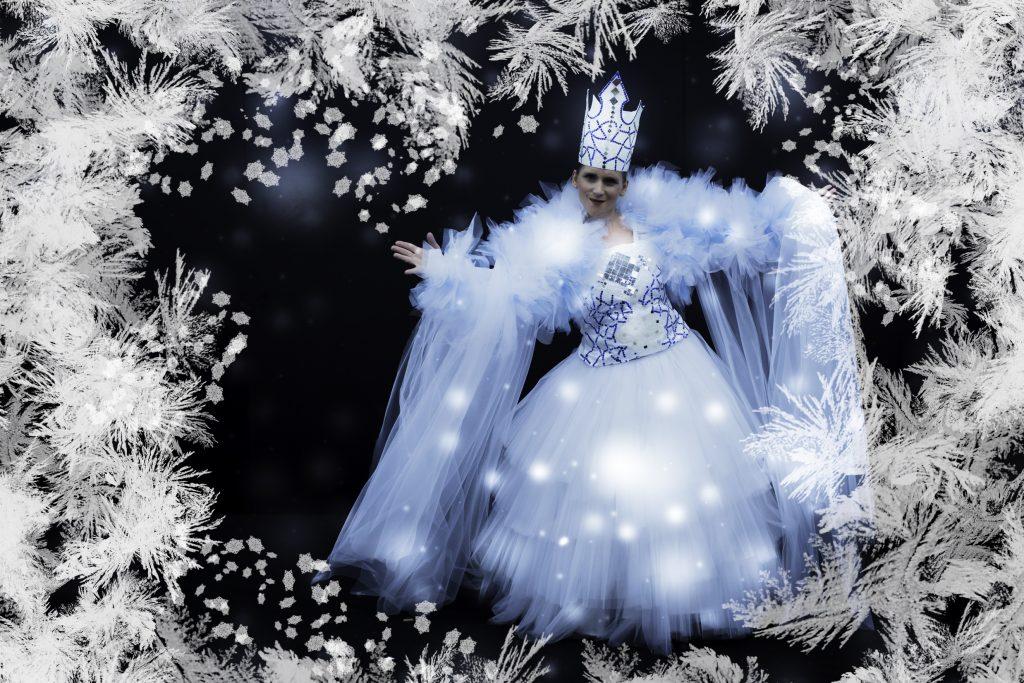 Prizor iz opere Snežna kraljica. Vir: Arhiv Cankarjevega doma