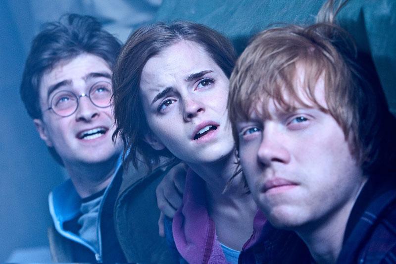 Harry Potter in Svetinje smrti. Vir: Kolosej