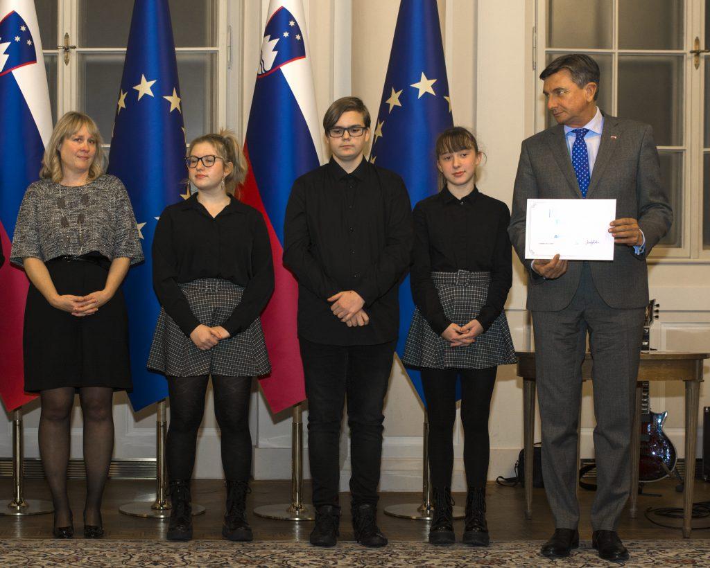 Mina Ravbar, Samo Medic in Adriana Golub. Foto: Maša Kores