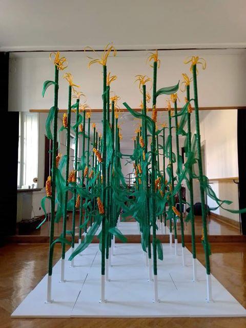 Skulptura na festivalu Hokus - Pokus. Vir: Arhiv festivala Hokus - Pokus
