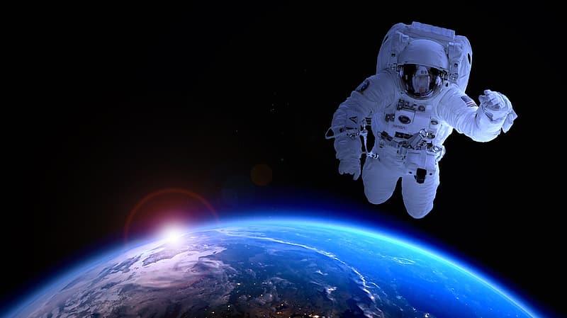 Astronavt v vesolju. Vir: pikrepo.com