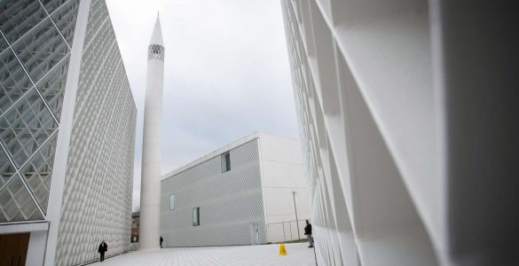 Muslimanski kulturni center v Ljubljani. Foto: Nik Jevšnik/STA