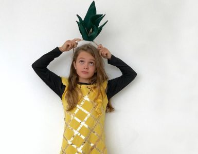 Kostum ananasa. Vir: Beautyfull blog
