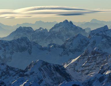 Julijske Alpe. Foto: Matevž Lenarčič/STO