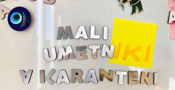 Mali umetniki v karanteni. Vir: Kulturni center Tobačna 001
