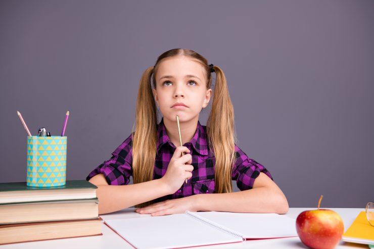Pisanje spisov v šoli. Vir: Adobe Stock