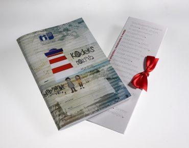 Kodeks sožitja, zvezek in čokolada. Vir: Arhiv ŠCC