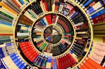 Če obrišeš prah s knjižnih polic, morda odkriješ zaklad. Vir: Pixabay