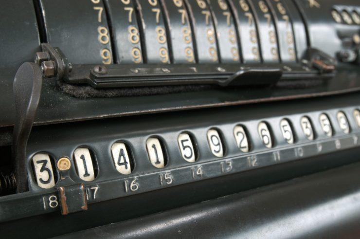Starinsko računalo števila pi. Vir: Pxhere