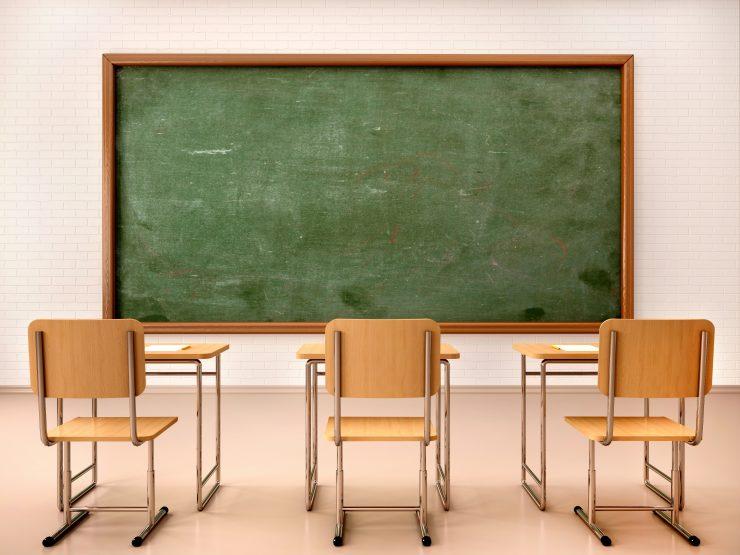 Nacionalno preverjanje znanja zaradi epidemije odpade, tudi učilnice bodo še nekaj časa samevale. Vir: Adobe Stock