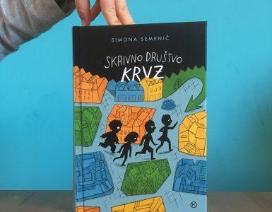 Skrivno društvo KRVZ. Vir: Arhiv Mladinske knjige