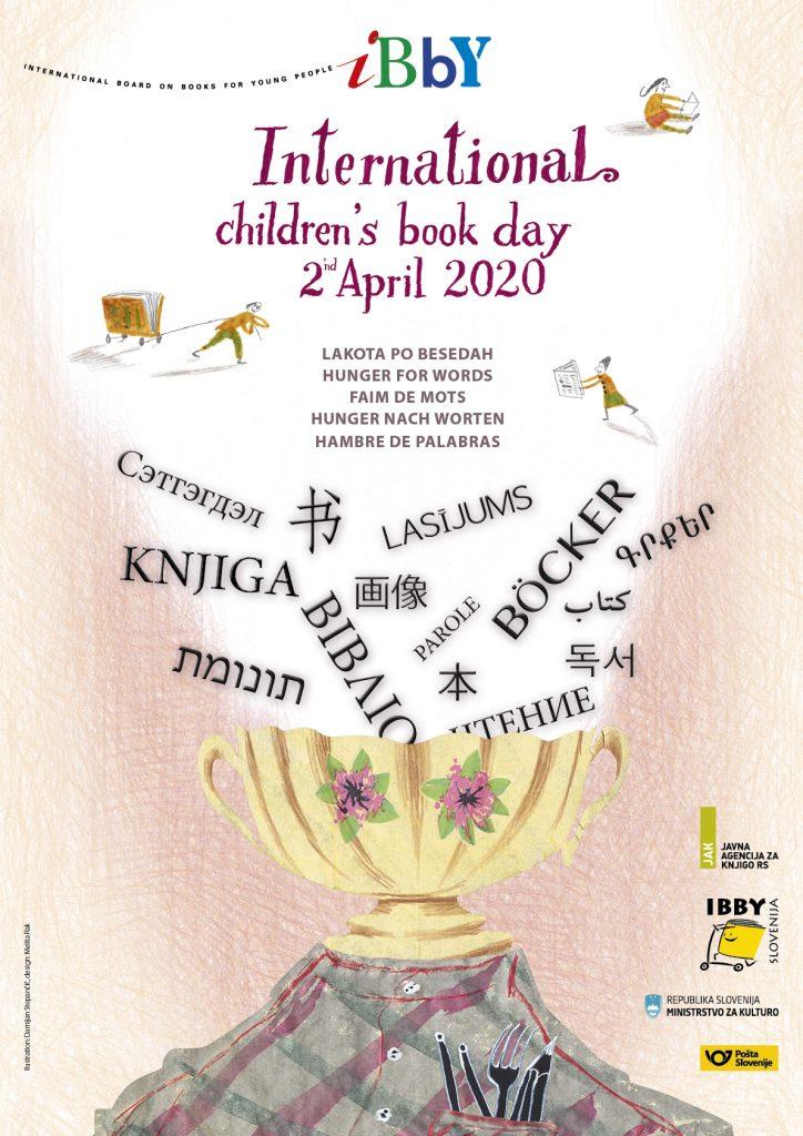 Poslanica ob mednarodnem dnevu knjig za otroke in mlade. Vir: Bralna značka
