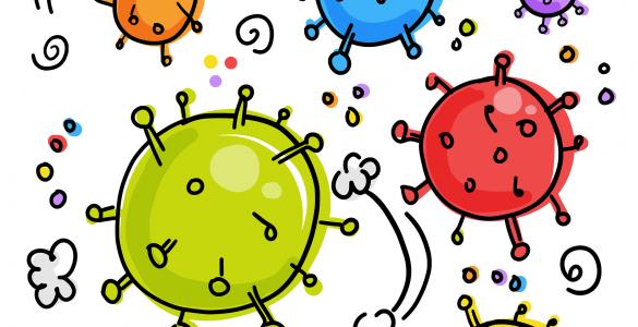 Nekateri virusi so za človeka tudi koristni! Vir: Pixabay