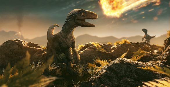 Za dinozavre je bil usoden kot, pod katerim je asteroid treščil na Zemljo. Vir: Adobe Stock