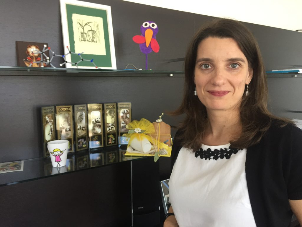 Ministrica dr. Simona Kustec. Foto: Sonja Merljak/Časoris