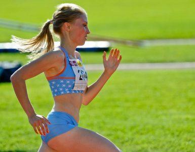 Maruša Mišmaš Zrimšek teče že vrsto let. Tako je nastopila na finalu atletskega pokala Slovenije leta 2012. Foto: Nebojša Tejić/STA