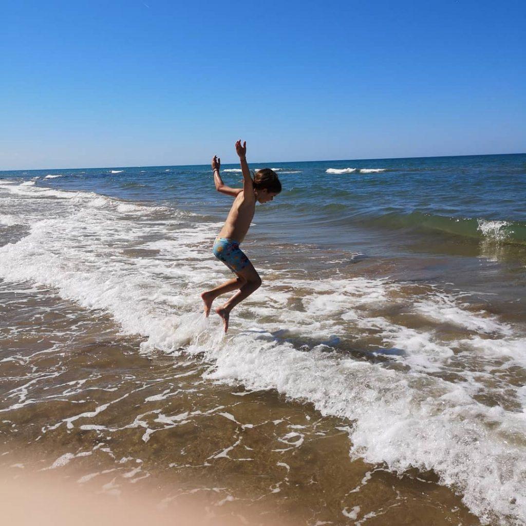 Morje je vedno zabavno. Vir: Osebni arhiv