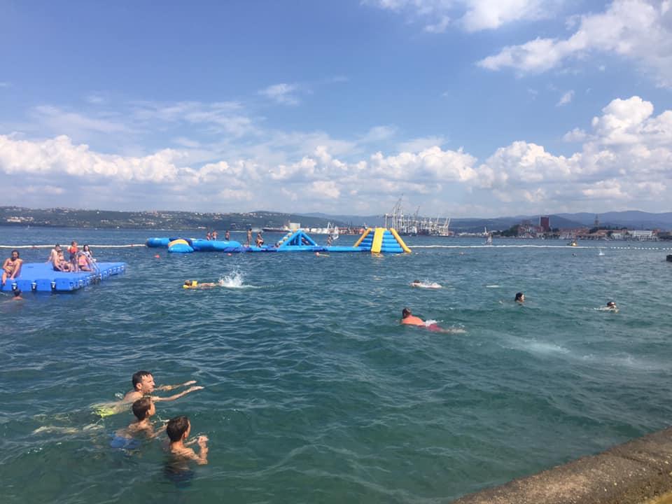 Poletje na kopališču Žusterna. Foto: Sonja Merljak/Časoris
