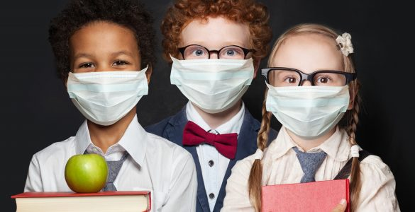 Prvi šolski dan v šolskem letu 2020/21. Vir: Adobe Stock