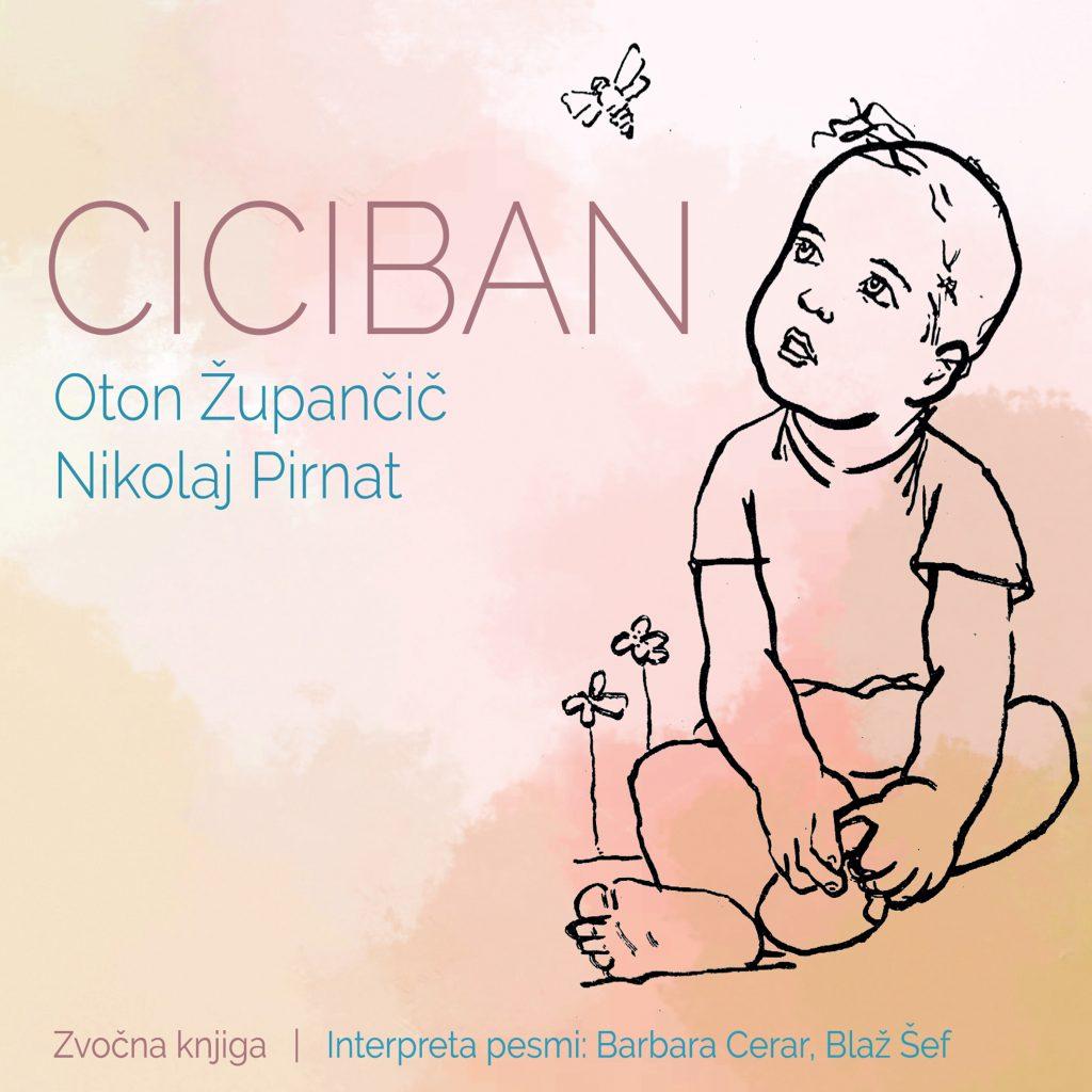 Naslovnica zvočne knjige Ciciban. Vir: Arhiv RTV