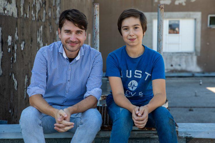 Saša Tabaković in Ivo Vitez. Foto: Adrijan Pregelj