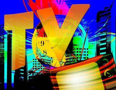 Televizijski zaslon. Vir: Pixabay