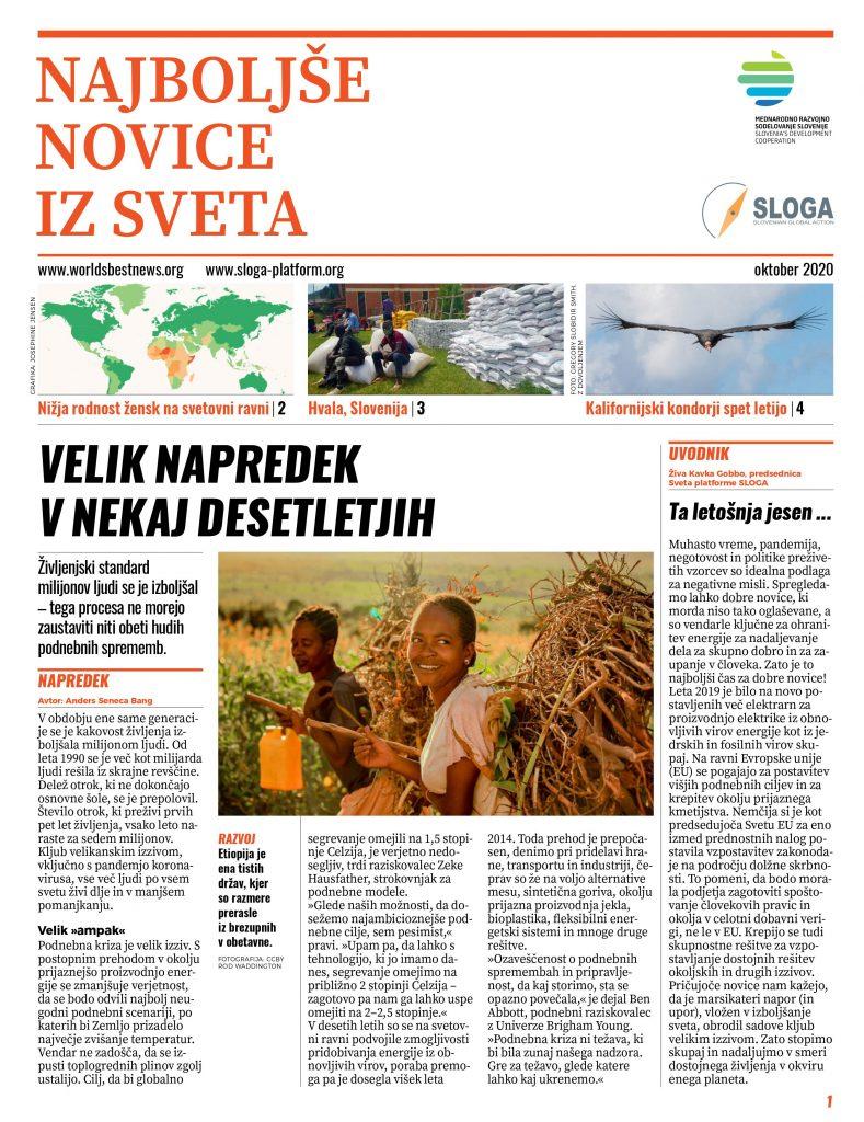 Časopis Najboljše novice iz sveta. Vir: Sloga