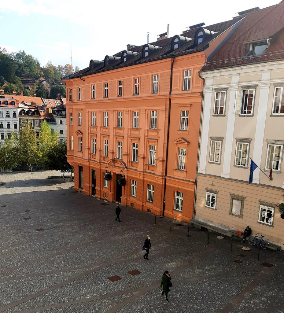 Ljubljana je že danes precej prazna. Foto: Barbara Turk Niskač