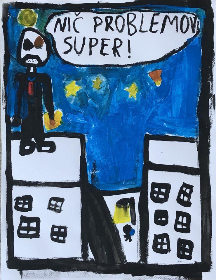 Matejev superjunak. Vir: Osebni arhiv