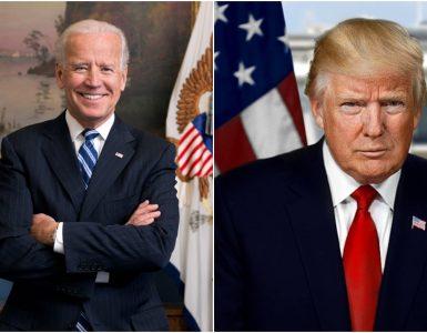Za položaj ameriškega predsednika se potegujeta demokratski kandidat Joe Biden in republikanec Donald Trump. Foto: Wikimedia