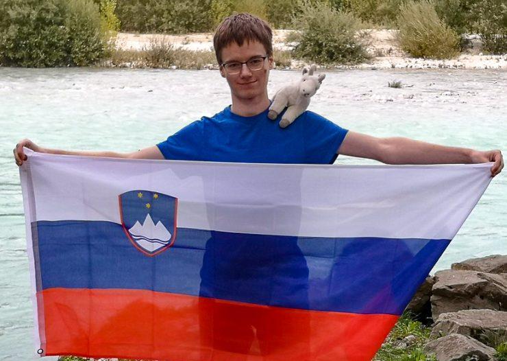 Luka Horjak je svoje matematične veščine treniral ves čas šolanja na I. gimnaziji v Celju. Foto: osebni arhiv