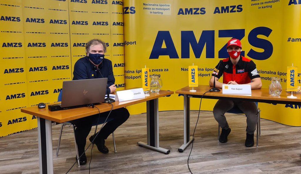 Sprejema za Tima Gajserja letos zaradi epidemije ni bilo. Novinarjem in oboževalcem se je predstavil le na novinarski konferenci in v oddaji Vikend paket na RTV SLO. Foto: Sabina Lavrič