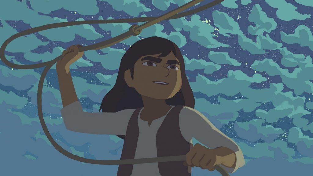 Animirani film o Marthi Jane Calamity je dobitnik številnih nagrad. Vir: Animateka
