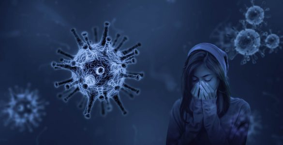 Novi koronavirus ne prizanaša nikomur, tudi mladim ne. Vir: Pixabay