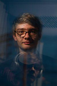 Jakob Vogrinec, avtoportret