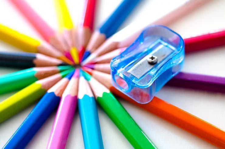 Urejeni svinčniki. Vir: Pixabay