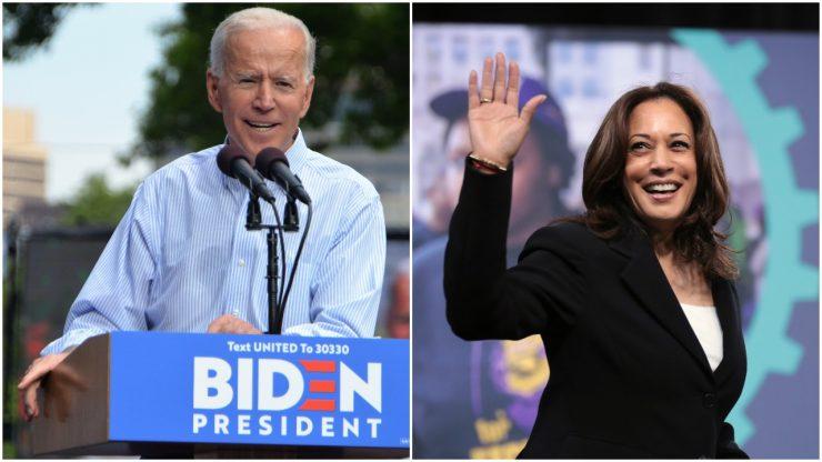 Joe Biden in Kamala Harris, novi ameriški predsednik in podpredsednica. Vir: Wikimedia
