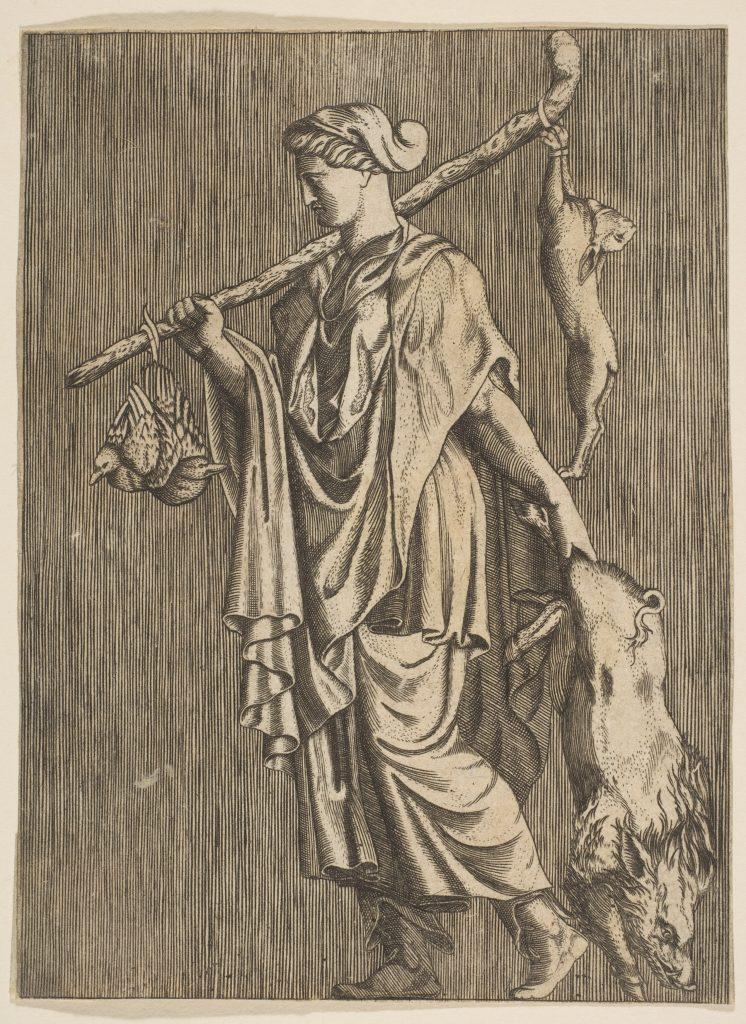 Risba lovke iz 16. stoletja. Vir: Wikipedia