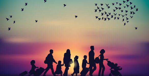 Obrazi migracij. Vir: Adobe Stock