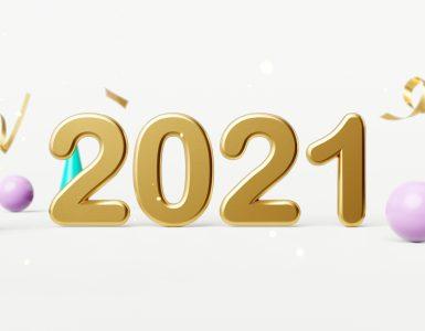 Srečno novo leto 2021. Vir. Adobe Stock